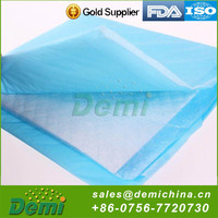 Factory directly sale safety grade waterproof dog pee pad