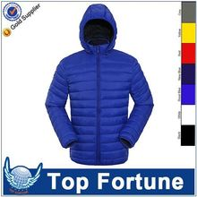 Provide OEM service black jacket fur hood down jacket