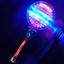 7.5inch LED Spinner Wand with music,Magic space ball spinner