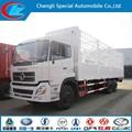 df de carga de camiones van camión de carga 160hp 16 toneladas de dongfeng van de carga de camiones de servicio pesado
