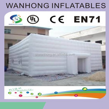 Outdoor portable beach tent, inflatable cube tent/wedding inflatable tents
