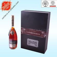 deluxe wine box,wine gift set packaging with hard cardboard