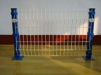 Welded Curved wire mesh fence netting