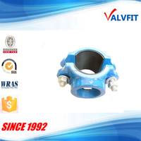 ductile cast iron saddle clamp for PVC pipe