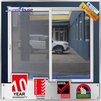 Australian standards AS2047 AS2208 AS1288 double glass aluminium pantry sliding doors
