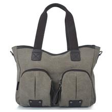 2012 Fashion Ladies' Canvas Handbag