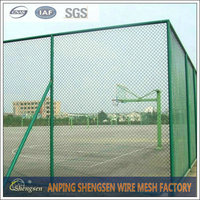 Anping low price 6ft chain link fence