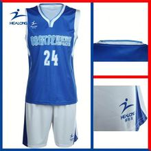 Healong Manufacturer Latest Cheap College Basketball Jerseys