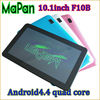 alibaba china hot new and cheap electronics for 2015, MaPan F10B quad core android 4.4 10 inch tablet with turkish language