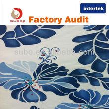 40s*40s 110*70 tejido impreso de algodón 100% trenzado