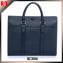 Leather attache case Portfolio for men Business Case Bag