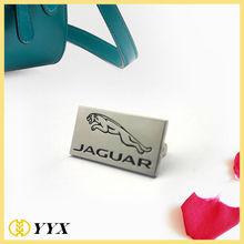 Custom car brands logo casting jaguar logo