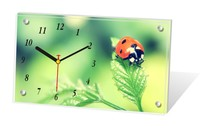 Customized unique gift cheap promotional products table clock