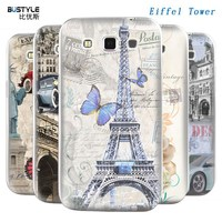 For SAMSUNG Galaxy win i8552 cases with Eiffel Tower design beautful outer for phone