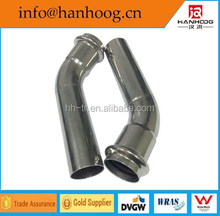 Iovesteel fire hose used inox press equal pipe elbow fitting