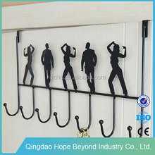 Hooks & Rails modern people metal over the door coat hooks coat rack
