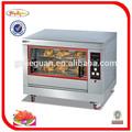 Comercial rotary asadores de pollo/pollo eléctrica del horno rotatorio