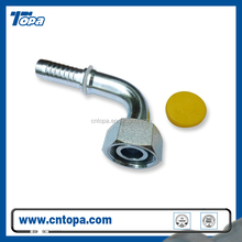 TOPA top quality CARBON STEEL METRIC MALE CONE SEAT HYDRAULIC HOSE FITTINGS 20591