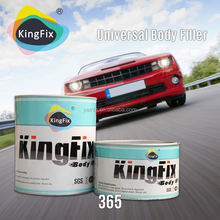Factory manufacture red hardener low smell gloss car body filler