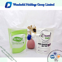 Reusable Pouch Stand up Plastic Bag Water/Drink Packets