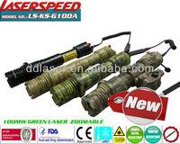 100mw LASER LIGHT/subzero hunting gun mounted 100mw green gun picatinny rail mountable laser