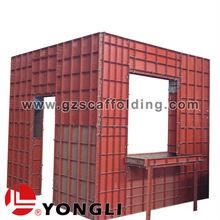 New Modular Building Concrete Column Steel Formwork System