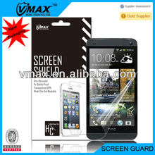 For HTC ONE M7 screen protector with design