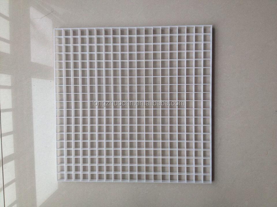Egg Crate Grille Diffusers : Plastic air outlet conditioning grilles diffusers