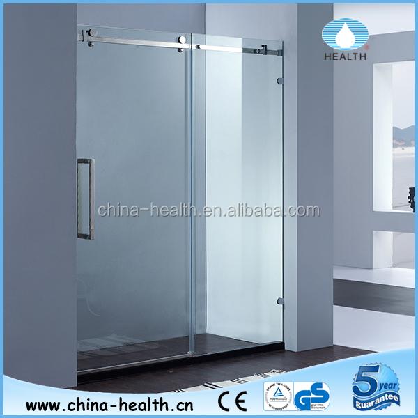 Badkamer Douche Scherm ~ groothandel roestvrij staal badkamer frameloze douche scherm douche
