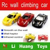 3 channel reomote control wall climbing car,kid car,electronic kid car with light