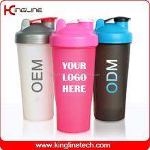 Daily used 600ml personalized custom logo shaker bottle OEM (KL-7010)