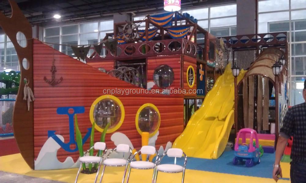 b 0215 Indoor Kids Plastic Jungle Gym Indoor Playground