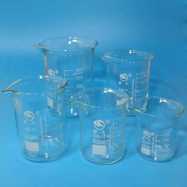 Лабораторная мензурка Glass Beaker 300 ,  . 3.3,