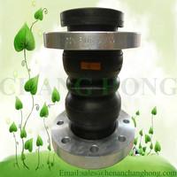 Manufacture double sphere rubber bridge expansion joint
