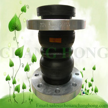 Manufacture double sphere rubber bridge expansion joint