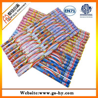 End of ring color pencils with logo