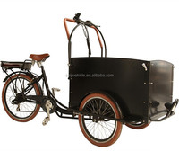 Tricycle electrische bakfiets electric three wheel electric tuk tuk china