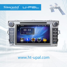 """Bluetooth-Enabled,Built-in GPS,MP3 / MP4 Players,Touch Screen Combination and 7"""" Screen Size 2 din car dvd for Toyota Ez 2014"""