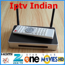 Home theater + 125 HD indian channels android smart tv box with india channel iptv box 14.0 skype/xbmc youtube youporn iptv