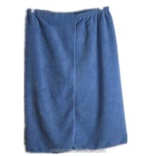 Best-selling European market blue 140*70cm ,250gsm Velcro Bath skirt Azo freemens bath skirt sample for free $1.6-2