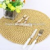 eco friendly woven straw placemats