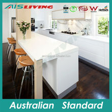AIS LIVING warm house kitchen cabinet with water mark taps