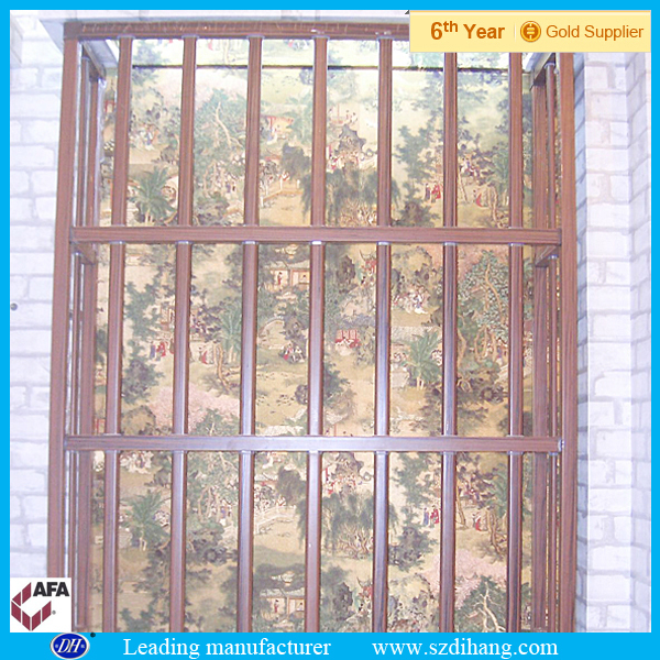 Iron window grill color window grill designs home buy for Window design colour