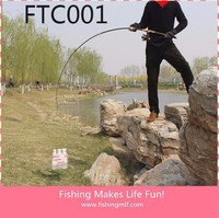 FTC001 2.1M Carbon Fiber Fishing Rods Wholesale Fishing Tackle