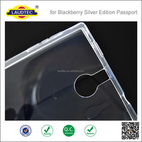 New Clear TPU case for BlackBerry Passport Silver Edition