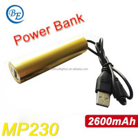 Universal LED 2600mAh External Battery USB Charger Mobile Power Bank Lightweight