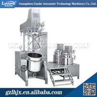 Facial cream vacuum homogenizer, cosmetics manufacturing equipement, hydraulic lifting vacuum homoginizer