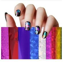 Nail Art Foil Fashion New 2015 Mix colors Transfer Foil Set Nail Tip Decoration (190 Colors)