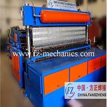 Wire mesh welding machine with power tailor machine