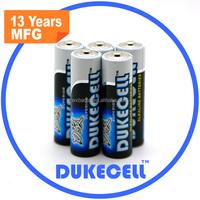 LR 6 AA 1.5v alkaline battery